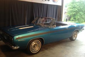 1967 Plymouth Barracuda CONVERTIBLE 318 AUTO