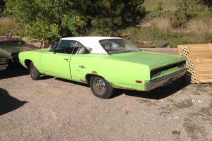 1970 plymouth GTX sublime green