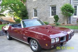 1970 GTO 455 HO Convertible 4-Speed --  1 of 158!!!!!!!!