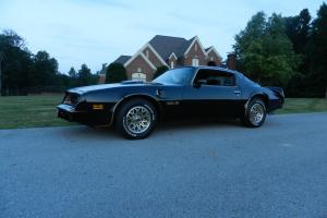 1977 Trans Am Bandit 400 Pontiac 4sp W72 Black Original / SE Clone 6.6 78 79 70