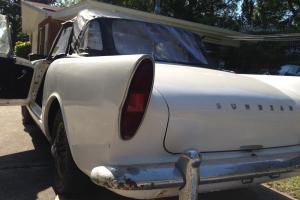 VINTAGE 1961 SUNBEAM ALPINE SERIES II Convertible/Hardtop Great For Restoration