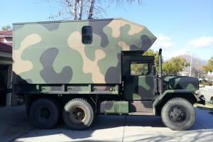 4x4 RV Military truck with camper