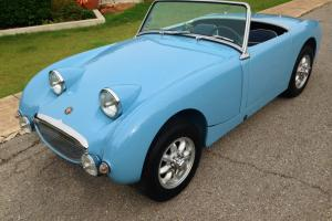 Bugeye or Frogeye Sprite Amazing Nut & Bolt Restoration 1275cc, 5 spd, Hardtop!