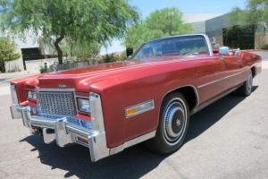 76k Orig Miles AZ Car Red on Red New Top Rust Free LOADED Car 77 78 75 79 74