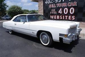 1974 Cadillac Eldorado Convertible Power Top 8.2L V8 Power Seats Very Clean