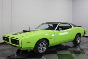 SUPER BEE CLONE CHARGER, 400CI, AIR GRABBER HOOD, SUBLIME GREEN PAINT