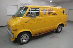 "1977 Dodge B-200 Custom Van ""GOLD FEVER"" All orig.except main. items NICE !!"