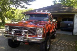 1975 step side 4x4 just built, new interior, engine, paint, 4 speed