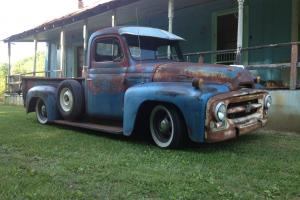 1953 International pickup R110 newer chassis AC/AUTO/CRUSE PATINA SEE VIDEO
