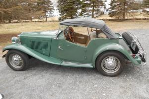 1951 MGTD matching #'s vehicle, excellent driver. Everything works as it should