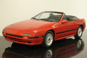 1988 Mazda RX-7 Convertible One Owner 24961 Miles Documented Loaded Leather AC