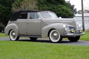 1940 Mercury Eight Convertible 4 door Sedan Very Rare Flathead V8 3 Speed