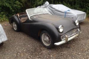 1957 Triumph TR3 *Restoration project* LHD