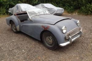 1959 Triumph TR3 *Restoration project* Left hand drive Photo