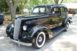 1936 Plymouth Sedan