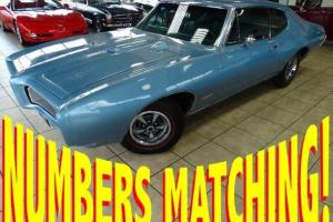 NUMBERS MATCHING - PHS DOCUMENTED - GTO - 400ci V8 - AIR-CONDITIONING - 69 70 71