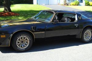 1980 Pontiac Trans Am , Black Beauty