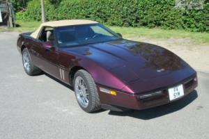 Chevrolet GMC Corvette 1989