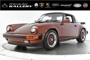 1986 Porsche 911 2DR CABRIOLET CARRERA 5-SPD