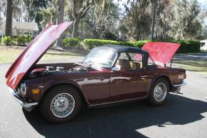 1973 Triumph TR6 with Factory Overdrive and Hardtop!