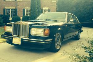 1989 Rolls Royce Silver Spur Base Sedan 4-Door