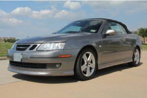 2006 SAAB COVERTIBLE AERO,CLEAN TX TITLE,RUST FREE,LOW MILES