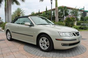 2006 Saab 9-3 Turbo ARC Convertible-Low Mileage-Exclusively FL-kept-Clean CarFax