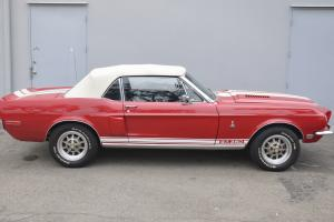 1968 SHELBY GT-350 ORIGINAL RED