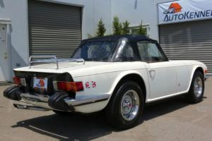 Original California TR6 Rust Free/Very Straight Nicely Restored Well Maintained