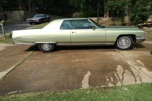 Classic Cadillac Coup DeVille; 1972 model