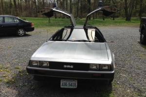 **Pristine AUTOMATIC 1981 DeLorean DMC-12 Rare Black Interior**