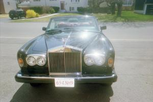 1989 Rolls Royce Corniche Convertible