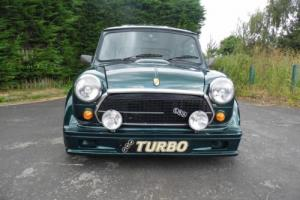 1992 Rover Mini ERA Turbo in British Racing Green only 84 miles from new