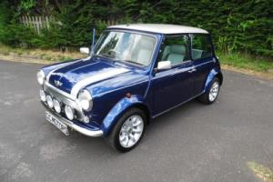 2001 Rover Mini Cooper Sport 500 in Tahiti Blue only 173 miles