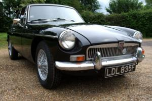 MGB GT 1968 Series II Chrome Bumpers Overdrive Wire wheels