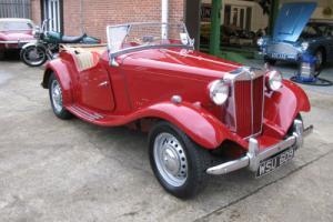1951 MG TD Sports