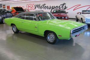 1970 Dodge Charger R/T Sublime Green Original 440 C.I. 375 Horsepower
