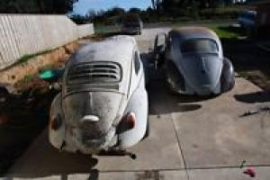 Rare 1960 Semaphore VW Beetle Plus 1966 Beetle Also Heaps OF Extras