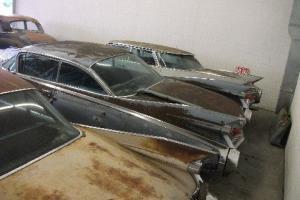 3 Cadillac Sale 1959, 1959,1960 FLAT Top 4 dr Seville