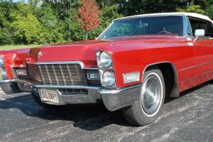 1968 Cadillac DeVille convertible  Rust Free