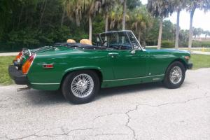 1977 MG MIDGET BEAUTIFULLY RESTORED WITH NO RESERVE!!!!