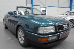 1994 L AUDI CABRIOLET 2.0 E 2D 114 BHP