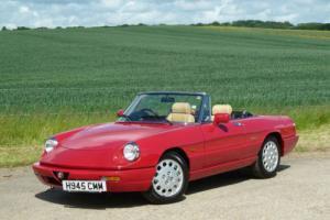1991 Alfa Romeo Spider 2.0 Series 4 RHD