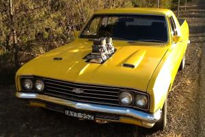 Holden HT Belmont UTE Blown 6 71 350 Chev Muncie 4SPEED HT NOT HK HG Monaro Photo