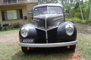 1939/1940 Ford 2 Door Sloper, Mercury V8 Flathead[Reco],3 speed on the tree. Photo
