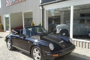 1982 Porsche 911 3.0 SC CABRIOLET LHD 30,000 MILES( 47 KLM)