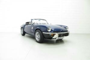 A Fantastic Enthusiast Owned Triumph Spitfire MkIV Presented in Beautiful Order