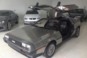 1981 DeLorean for sale 42,150 miles Photo
