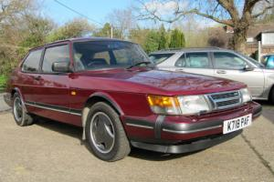 SAAB 900 RUBY TURBO 16 FPT. NOW SOLD - WE BUY ALL 900`S