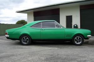 Holden Monaro GTS 1970 2D Coupe 4 SP Manual 5 7L Carb
